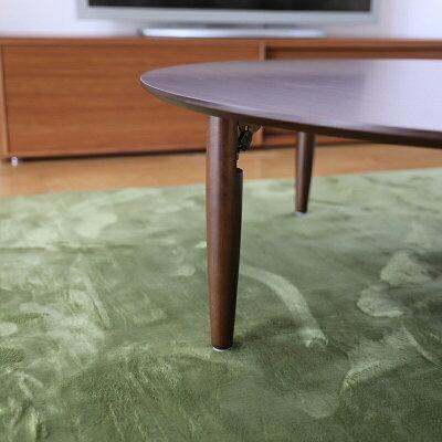 商品名 ACA北欧リビングテーブル座卓ちゃぶ台カラー 天板ブラウンサイズ 幅120cm奥行120高さ37cm生産国 国産日本製円卓主素材 MDFボードメラミン化粧板シンプル北欧ローテーブル折りたたみウォールナットテーブル