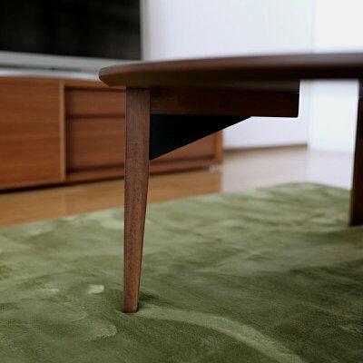商品名|FLL北欧リビングテーブル座卓ちゃぶ台カラー|天板ブラウンサイズ|幅120cm奥行120高さ36cm生産国|国産日本製円卓主素材|MDFボードメラミン化粧シンプル北欧ローテーブルウォールナット柄テーブル直径100cm