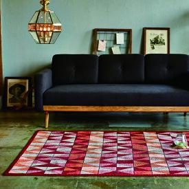 NDC ノルディック リバーシブル ラグ約幅140 奥行200cmアーバンモダン ラグ カーペットオールシーズン ホットカーペット対応海外インテリア おしゃれ ラグマット ラグ 敷き物 絨毯 じゅうたんモダン シンプル デザイン