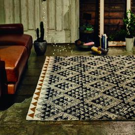 CRS クロスデザインラグ約幅140 奥行200cmキリム柄 インド製 クロス カーペットオールシーズン 抗菌防臭 消臭加工ホットカーペット対応海外インテリア おしゃれ ラグマット ラグ 敷き物 絨毯 じゅうたん伝統的なネイティブキルト柄