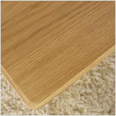 長方形こたつテーブル・オリジナルコタツ・ナチュラル色のこたつ・幅120cmのコタツ・丸みのあるかわいいデザインの脚です・北欧ジャパニーズモダンなデザイン日本製