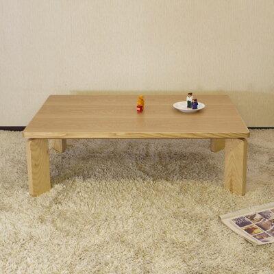 こたつテーブル・オリジナルコタツ・ナチュラル色のこたつ・幅120cmのコタツ・丸みのあるかわいいデザインの脚です・北欧ジャパニーズモダンなデザイン日本製