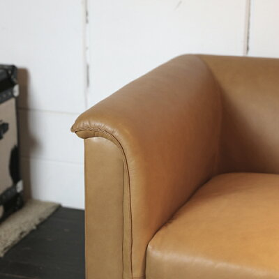 ジョセフィンソファ3P本革ミッドセンチュリーモダン幅212奥行90高さ68座面高38cm総本革張り木製脚部コロンビアブラウン北欧モダンウェービングテープおしゃれシンプルかっこいいJOSEPHINESOFA本革ソファ212cm完成品