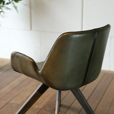 【SEL】シェルチェアー本革張りヴィンテージデザイン幅約57奥行58高さ76.5cm本革張りのダイニングチェア北欧ミッドセンチュリーモダンデザインレトロモダンスタイルダイニングチェア椅子イス完成品