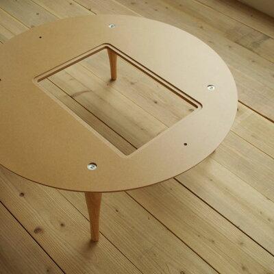 ヒーターなしminon120円卓木目5色ちゃぶ台円形リビングテーブル日本製国産座卓和モダン北欧テイストジャパニーズモダンおしゃれなデザイン天板ウォールナットまる丸円オールシーズン使用OK