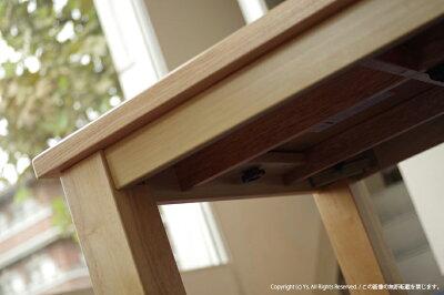 こたつ・北欧テイストミッドセンチュリーモダン・洋室にも和室にも合う炬燵家具調・継ぎ脚付きローテーブルコタツ・幅135cmこたつテーブル