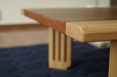 ・fship150・北欧風ジャパニーズデザイン・長方形座卓リビングテーブル・和ジャパニーズモダン・ローテーブル・日本製