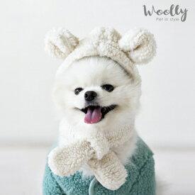 【woolly】ペット用マフラーシリーズ 犬服 ワンちゃん服 犬の服 ペット服 ドッグウェア かわいい 犬 tシャツ 小型犬 トレーナー いぬ ドッグ ペット用
