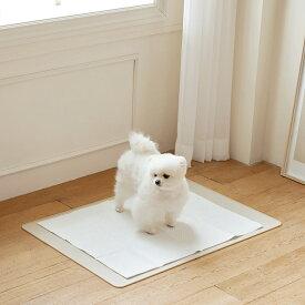エッジシリコンマット ペットトイレ ペットトイレシート 薄型 ペット シート シーツ ペットシート ペット用 犬 猫 おしっこシーツ トイレ 固定 トイレト