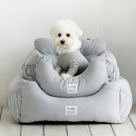 犬用 ドライブボックス(L)ドライブボックス ペット用品 ペットクッション ドライブシート ベッド ペット用 車用 カー用品 中小型犬 お出かけ 汚れ防止 リード付き