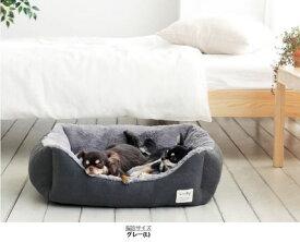 woolly リーフペットクッション(L)ペットベッド カドラー Lサイズ 猫用 ペットソファ ペット用品 ペット用 グッズ ペットクッション 猫ベッド 犬ベッド ペットベット ベッド ベット ソファ 犬 猫 ねこ あったか