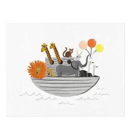 アートプリント 【Mサイズ】【NoahsArk】【ノアズアーク】 ポスター 北欧 インテリア 西海岸 カフェ フロリダ フレーム riflepaper annna bond