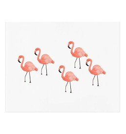 ライフルペーパー riflepaper ポスター アートプリント Sサイズ Flamingo フラミンゴ 北欧 インテリア 西海岸 カフェ フロリダ フレーム annna bond