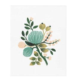 アートプリント 【Sサイズ】【Blue botanical】【ブルーマム】 ポスター 北欧 インテリア 西海岸 カフェ フロリダ フレーム riflepaper annna bond 楽天市場 楽天 通販 花 ハーブ ボタニカル