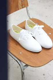 Keds(ケッズ)CHAMPION OXFORD キャンバススニーカー #8041 WHITE 2020'A/W【Lady's】