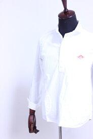 DANTON(ダントン)OXFORD ショールカラープルオーバーシャツ #JD-3568 YOX WHITE 2020'S/S【Men's】