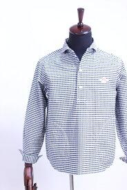 DANTON(ダントン)OXFORD GINGHAM ショールカラープルオーバーシャツ #JD-3568 TRD 2color 2020'S/S【Men's】