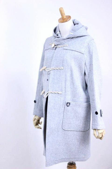 【WINTER SALE】Orcival(オーシバル/オーチバル)GEELONG LAMB'S MELTON フード付きダッフルコート #RC-8365 GSM 2color 2017'AW【Lady's】