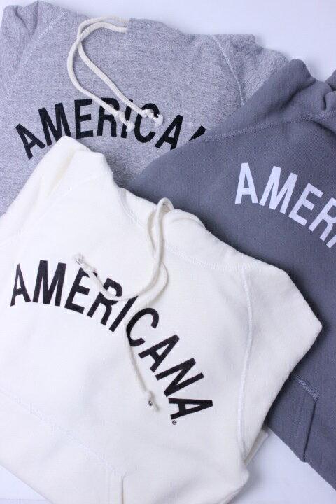 """【30%OFF】Americana(アメリカーナ)HOOD PRINT SWEAT """"AMERICANA"""" 3color 2018'S/S【Lady's】"""