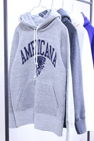 """【SALE 30%OFF】Americana(アメリカーナ)HOOD SWEAT """"AMERICANA INDIAN"""" 4color 2018'A/W【Lady's】"""