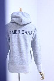 """Americana(アメリカーナ)HOOD SWEAT """"AMERICANA+BACK PRINT"""" 2019'S/S【Lady's】"""