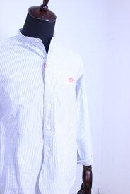 【2020'春夏】DANTON(ダントン)OXFORD PRAID バンドカラーシャツ #JD-3607 TRD 2020'S/S【Men's】