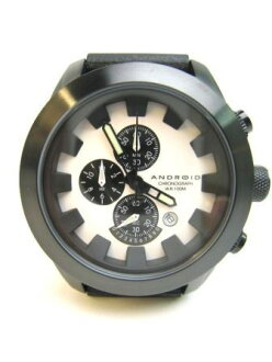 ANDROID(安卓)Chrono AD396 BLACK×WHITE