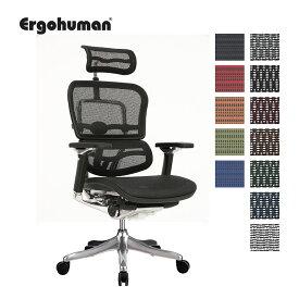 正規取扱店 オフィスチェア ワークチェア オフィスチェアー ワークチェアー パソコンチェア PCチェア ヘッドレスト付き 肘置き メッシュ おすすめ 快適 テレワーク リモートワーク 在宅ワーク エルゴヒューマン プロ EHP-HAM