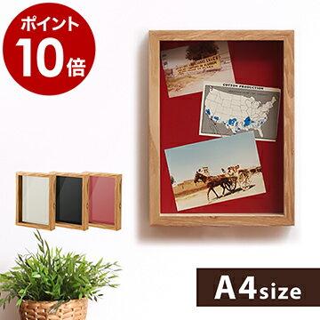 【ポイント10倍】木製ポスターフレーム A4サイズ(210×297mm)ウェルカムボード 写真立て フォトフレーム 写真たて 木製フレーム 額縁 額 フォトスタンド フレーム おしゃれ 壁掛け 北欧 【ギフト】[ GENERAL WOOD FRAME / ジェネラルウッドフレーム A4 ]