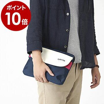 【ポイント10倍 送料無料】タブレットケース ミレスト iPadケース クラッチバッグ 小物入れ かわいい タブレット 迷彩 カモフラ iPad ケース カバー ポーチ バッグインバッグ かばん 鞄 フロッピー 【ギフト】[ MILESTO FLOPPY iPadケース MLS122 ] 