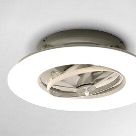LEDシーリングライト おしゃれ シーリングファンライト 天井照明 12畳 サーキュレーター 静音 首振り リモコン 調光調色 DCC-SW12CM サーキュライト
