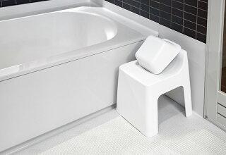 バスチェアシャワーチェア風呂椅子風呂いすお風呂用風呂イス子ども汚れにくい座面高めバス用品通気性お風呂グッズバスグッズ北欧おしゃれシンプルホワイトブラック白日本製RETTO/レットーハイチェア