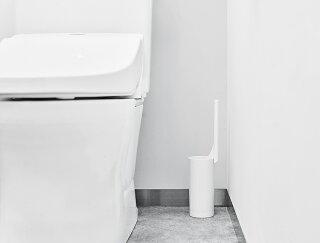 RETTOレット−トイレクリーナートイレブラシトイレブラシホワイトセットホルダースタンドケーストイレ掃除掃除用品掃除グッズ便器スリムシンプル北欧おしゃれ日本製新生活