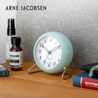 国内正規品アルネ・ヤコブセン置き時計置時計おしゃれギフト目覚まし時計目覚し時計アルネヤコブセンデザイナーズテーブルクロックARNEJACOBSENtableclockLK限定カラー