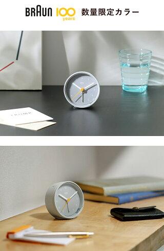 置き時計置時計ブラウンおしゃれギフト目覚まし時計目覚し時計テーブルクロックトラベルクロックミニ小さいアナログアラームBRAUNクラシックアナログアラームクロックBC12