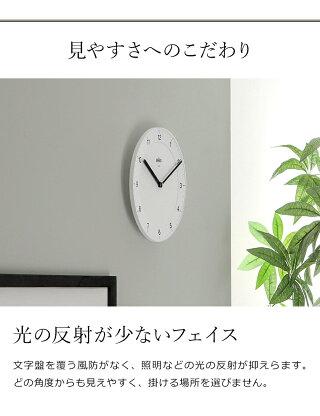 国内正規品壁掛け時計掛け時計かけ時計掛時計アナログ小さいおしゃれギフト時計ウォールクロック北欧ブラックホワイト黒白シンプル祝いBRAUNクラシックアナログウォールクロックBC06