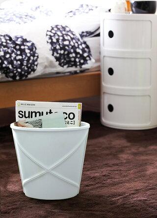 ゴミ箱おしゃれごみ箱ダストボックスオモチャ箱オモチャ入れトイボックス収納小物入れ収納ボックスマルチボックスゴムリビングレザー調シンプル子供部屋カラフルレガール鉢カバーregalL