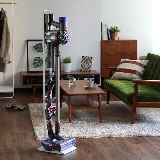 山崎実業towerダイソンスタンド掃除機コードレスダイソン対応dysonスティッククリーナーダイソンスタンド収納ノズルホワイトブラックタワーシリーズ35403541送料無料