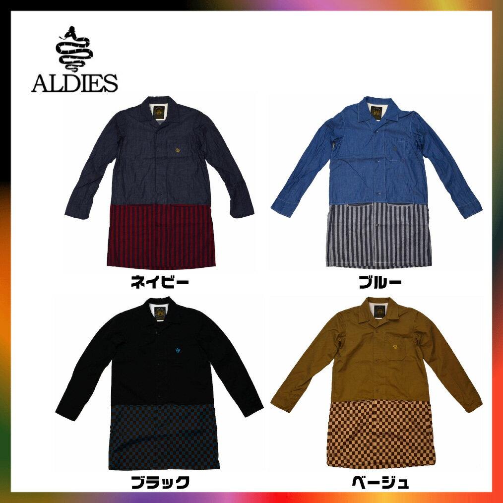 ALDIES アールディーズ Long Shirt ロングシャツ コート