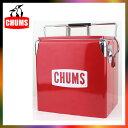 チャムス CHUMS スチール クーラーボックス Steel Cooler Box CH62-1128 レトロ フェス キャンプ