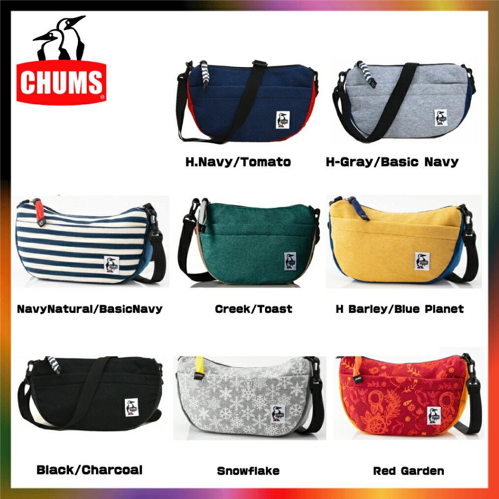 チャムス CHUMS ミニバナナショルダー スウェットナイロン ショルダーバッグ ショルダー バッグ