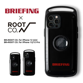 【ROOT CO.】BRIEFING×ROOT CO.BR×ROOT CO. for iPhone 12 mini・BR×ROOT CO. for iPhone 12/12 Pro