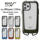 [iPhone11Pro専用]ROOT CO. Gravity Shock Resist Case +Hold.