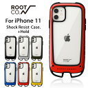 [iPhone11専用]ROOT CO. Gravity Shock Resist Case +Hold.