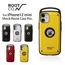 【iPhone12 mini専用】ROOT CO. GRAVITY Shock Resist Case Pro.