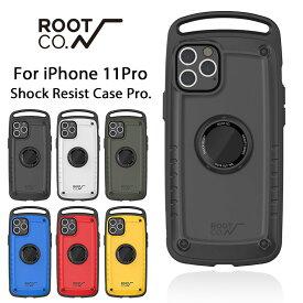 [iPhone11Pro専用]ROOT CO. Gravity Shock Resist Case Pro.