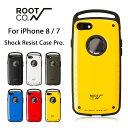 【ROOT CO.】iPhone8 iPhone7 ケース GRAVITY Shock Resist Case Pro.【 アイフォン8 アイフォン7 スマホケース 耐衝…