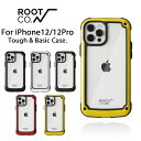 【iPhone12/12 Pro専用】ROOT CO. GRAVITY Shock Resist Tough & Basic Case.