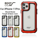 [iPhone11Pro専用]ROOT CO. Gravity Shock Resist Tough & Basic Case.