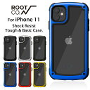 [iPhone11専用]ROOT CO. Gravity Shock Resist Tough & Basic Case.